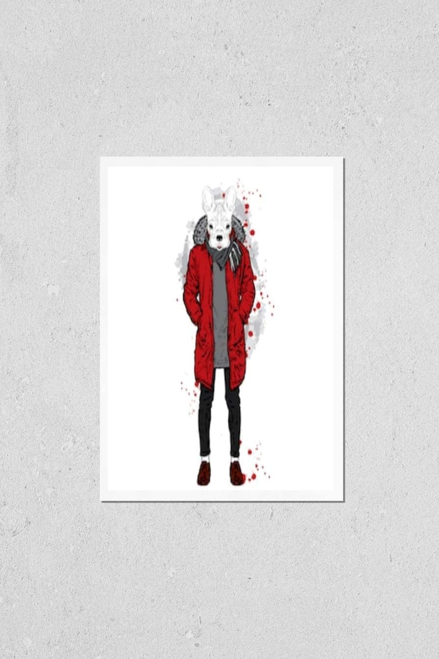 KwikMedia Poster Reproduction of Large special price !! Stylish Animer and price revision a Jacket in Bulldog