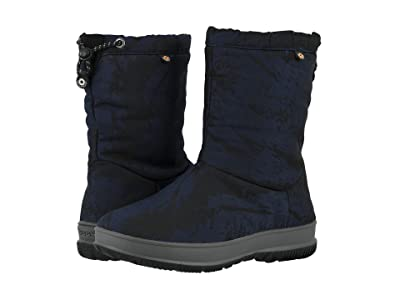 Bogs Snowday Mid Mountain (Dark Blue) Women