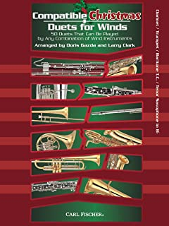 WF149 - Compatible Christmas Duets for Winds - Clarinet / Trumpet / Baritone T.C. / Tenor Saxophone