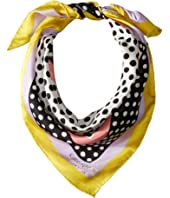 Kate Spade New York - Dotty Silk Bandana Scarf