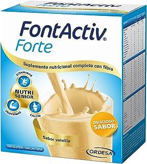 comprar comparacion Fontactiv Forte Vainilla - 14 Sobres de 30gr Suplemento Nutricional para adultos y mayores - 1 o 2 sobres al día