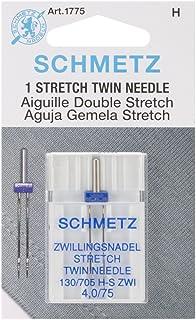 Euro-Notions Machine Double Stretch Needle-Size 4.0/751/Pkg, d'autres, Multicolore