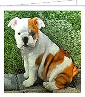 Bulldog - Bugsy #1 - Blank Note Cards - Set of 6 with Envelopes by DoggyLips