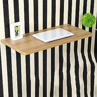 Lapdesks ZR-Table Murale Table à abattant Mural, Table Pliante pour Cuisine et Salle à Manger, Table pour Enfants en 13 Ta...