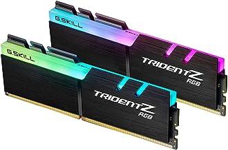 G.Skill F4-3600C18D-16GTZR (2x8GB) Trident Z RGB LED Serisi 3600MHz CL18 (18-22-22-42) Alüminyum Soğutuculu 1.35V Dual Bel...