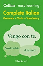 Easy Learning Italian Complete Grammar, Verbs and Vocabulary (3 books in 1): Trusted support for learning (Collins Easy Le...