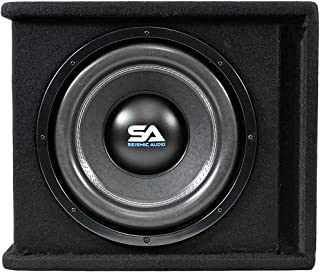 $111 » Seismic Audio - OutRage12-12 Inch 1200 Watt Car Audio Subwoofer Box Enclosure with Rear Vent
