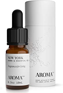 New York Aroma Oil for Scent Diffusers, Essential Oil for Diffusers, Luxury Essential Oil - 10 Milliliter