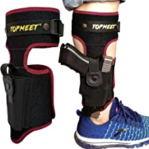 topmeet Upgraded Ankle Pistol Holster,not Ordinary – More Colors and More Sizes