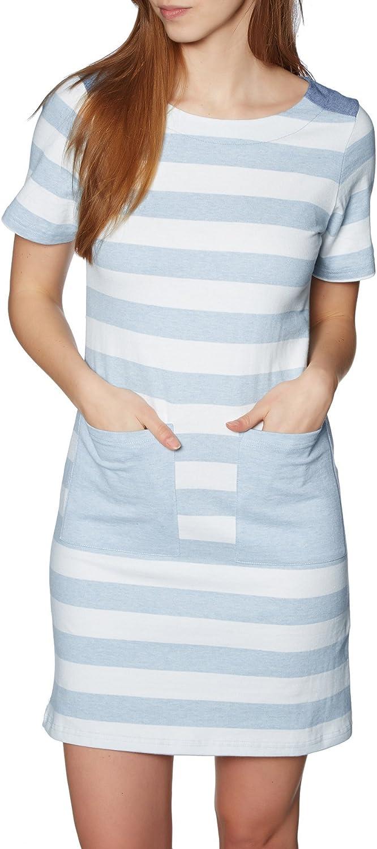 Joules Womens Seren Jersey Woven Mix Dress