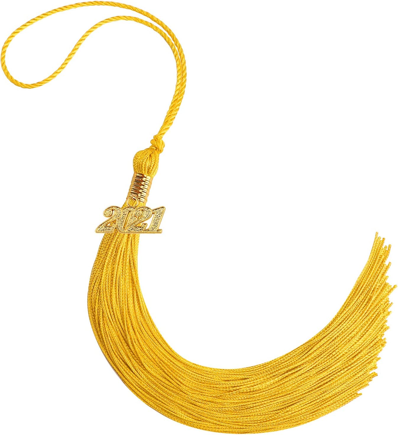 High material Graduation Tassel with service Gold 2021 Year Academic for Charm Graduat