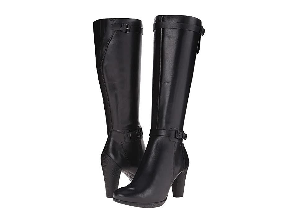 ECCO Sculptured 75 Tall Boot (Black) Women's Boots
