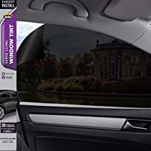 Gila Static Cling 20% VLT Automotive Window Tint DIY Easy Install Glare Control Privacy 2ft x 6.5ft (24in x 78in)