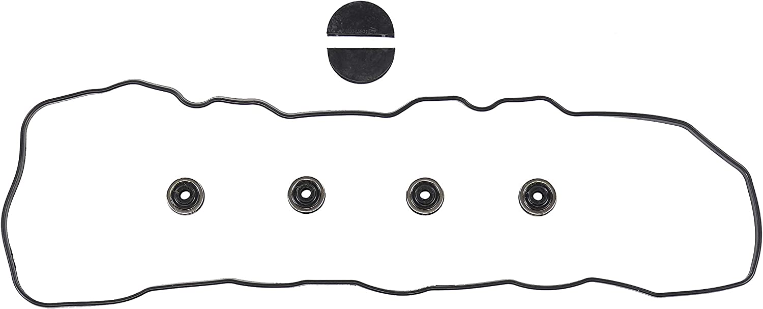 DNJ VC900G Valve Cover Gasket Set for Toyo W Grommets Max 88% price OFF 1985-1995