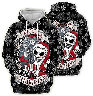 Le Cauchemar Avant Noël à Capuche Sweat à Capuche Pulls Veste Manteau Top