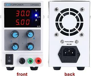 30V 5A Variable Adjustable Digital DC Power Supply for Lab