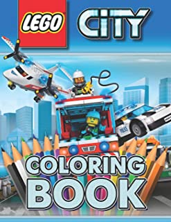 LEGO City Coloring Book: Great 30 Illustrations for Kids