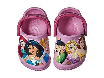 Crocs Kids CrocsFunLab Multi Princess Clog (Toddler/Little Kid) (Carnation) Girls Shoes