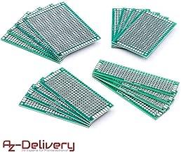 AZDelivery 16 x PCB Board Set Lochrasterplatte Lochrasterplatine Leiterplatte für Arduino