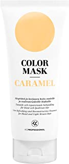 Color Mask Caramel Reconstructive Treatment - Toning Conditioner for for Blonde and Caramel Blonde Color Treated Hair. 6.76 oz
