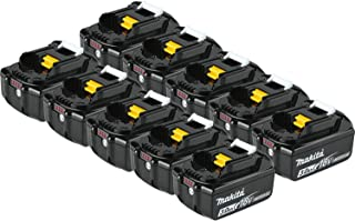 Makita BL1830-10 LXT Lithium-ion Battery, 10-Pack (Discontinued by Manufacturer)