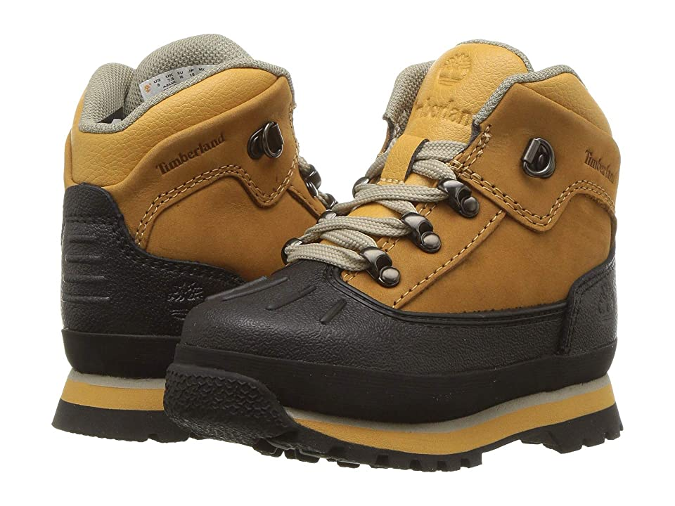 Timberland Kids Euro Hiker Shell Toe (Toddler/Little Kid) (Wheat Nubuck) Kid