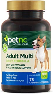 petnc NATURAL CARE, Adult Multi Daily Formula, Liver Flavor, 75 Chewables