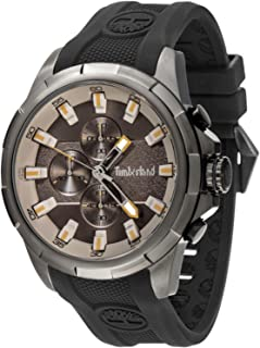 a2eac5d5cbd Timberland Boxford Mens Analogue Quartz Watch with Silicone Bracelet  15253JSU-13P