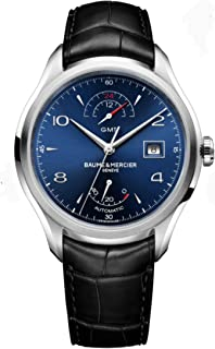 Mens Baume & Mercier Clifton Power Reserve GMT Watch 10316