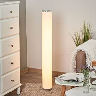 LED Lampadaire 'Ecris' (Moderne) en Blanc e. a. pour Salon & Salle à manger (1 lampe,à) | Lampadaire Sur Pied, Lampe a Pie...