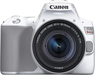 Canon Rebel SL3 with 18-55mm Lens, White