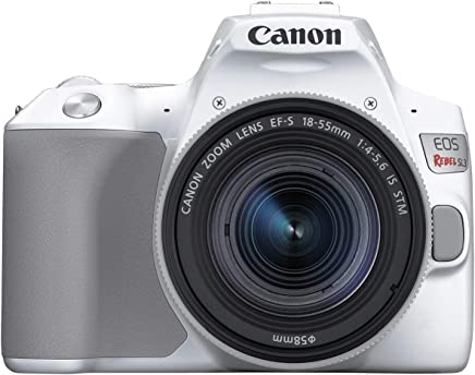 $649 Get Canon Rebel SL3 with 18-55mm Lens, White