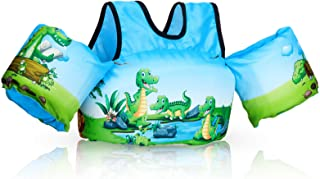 Toddler Swim Vest with Water Wings for Girls and Boys,Children Floatation Device for Puddle//Beach Life Vest for Children Floatie up to 55 Pounds BODINGTAI Puddle Jumper Kids Life Jacket