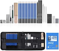 Drawing Pencils Set, Eocean 36Pcs Sketching Pencils Kits with Sketchbook Zipper Case, Art Supplies for Kids Adults Artists...