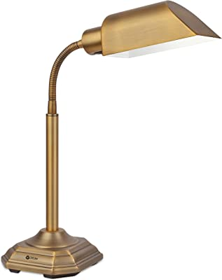 OttLite Alexander 20 Watt Table Lamp, Honey Brass