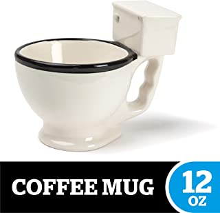 BigMouth Inc. The Original Toilet Mug – Hilarious 12 oz Ceramic Coffee Cup in the Shape..