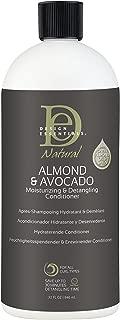 Design Essentials Almond & Avocado Moisturizing/Detangling Conditioner, 32 Fl Oz