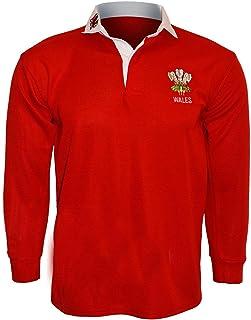 Activewear Wales Welsh Retro Cymru Rugby Supporter Shirts Volwassenen S M L XL XXL 3XL 4XL 5XL 6XL