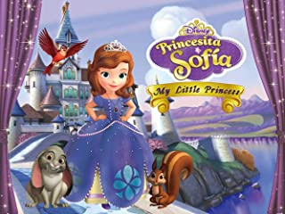 Sofia Backdrop | for Girl | Princess | 1st Birthday Background | First | Baby Shower | Disney Castle | Party Supplies
