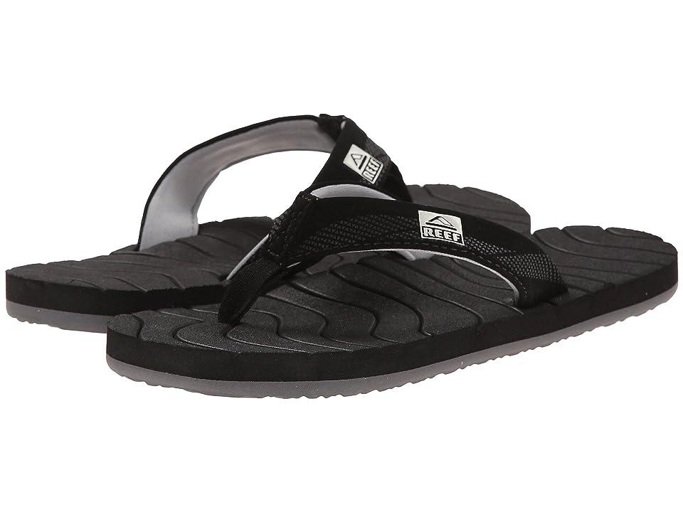 Reef Kids Grom Roundhouse (Infant/Toddler/Little Kid/Big Kid) (Black) Boys Shoes