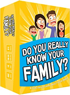 Do You Really Know Your Family? A Fun Family Game Filled with Conversation Starters and Challenges - Great for Kids, Teens and Adults