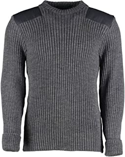 grey commando sweater