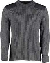 woolly pully sweater military