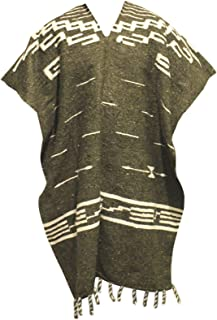 Clint Eastwood Spaghetti Western Cowboy Poncho Costume Sweater, Handwoven Made in Mexico
