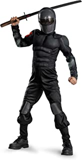 Costumes G.i. Joe Retaliation Snake Eyes Classic Muscle Costume
