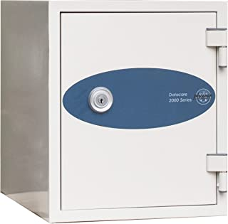 Phoenix Datacare 1-Hour Key Lock Fireproof Media Safe - 0.26 cu ft