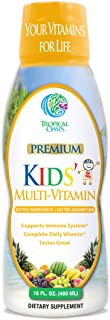 Premium Kids Liquid Multivitamin & Superfood -100% DV of 14 Vitamins for Kids. Multi-Vitamin for Children Ages 4+. Great T...