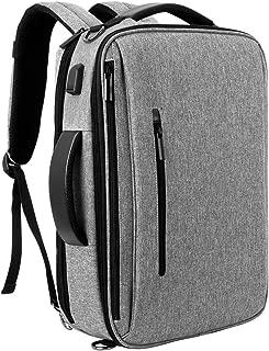 Mochila Ordenador Portatil Bolsa Antirrobo Impermeable 15.6 Pulgada para Viaje Oficina Escolares Negocios Trabajo con USB