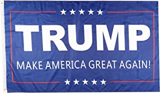 PringCor - Donald Trump for President Make America Great Again 3x5 Feet Printed Flag with Grommets Republican MAGA