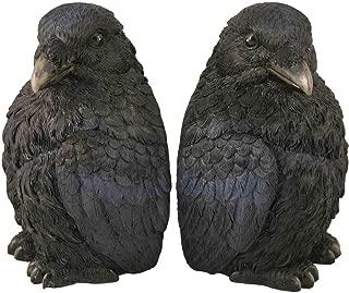 Streamline Raven Bookends Decor for Home